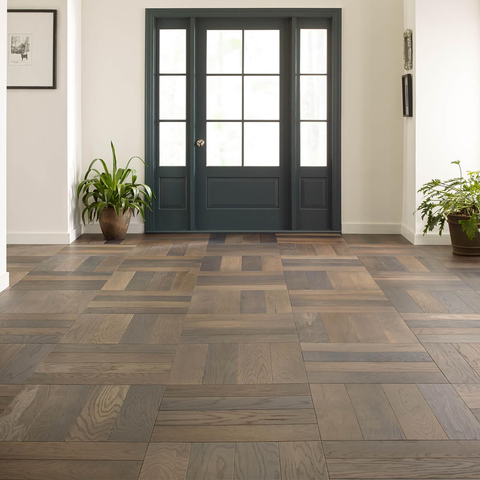 Old World Herringbone Laminate flooring | Gilman Floors