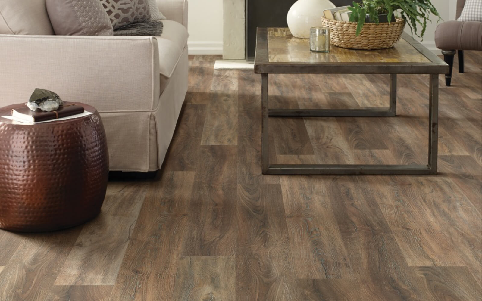 luxury vinyl installation | Gilman Floors