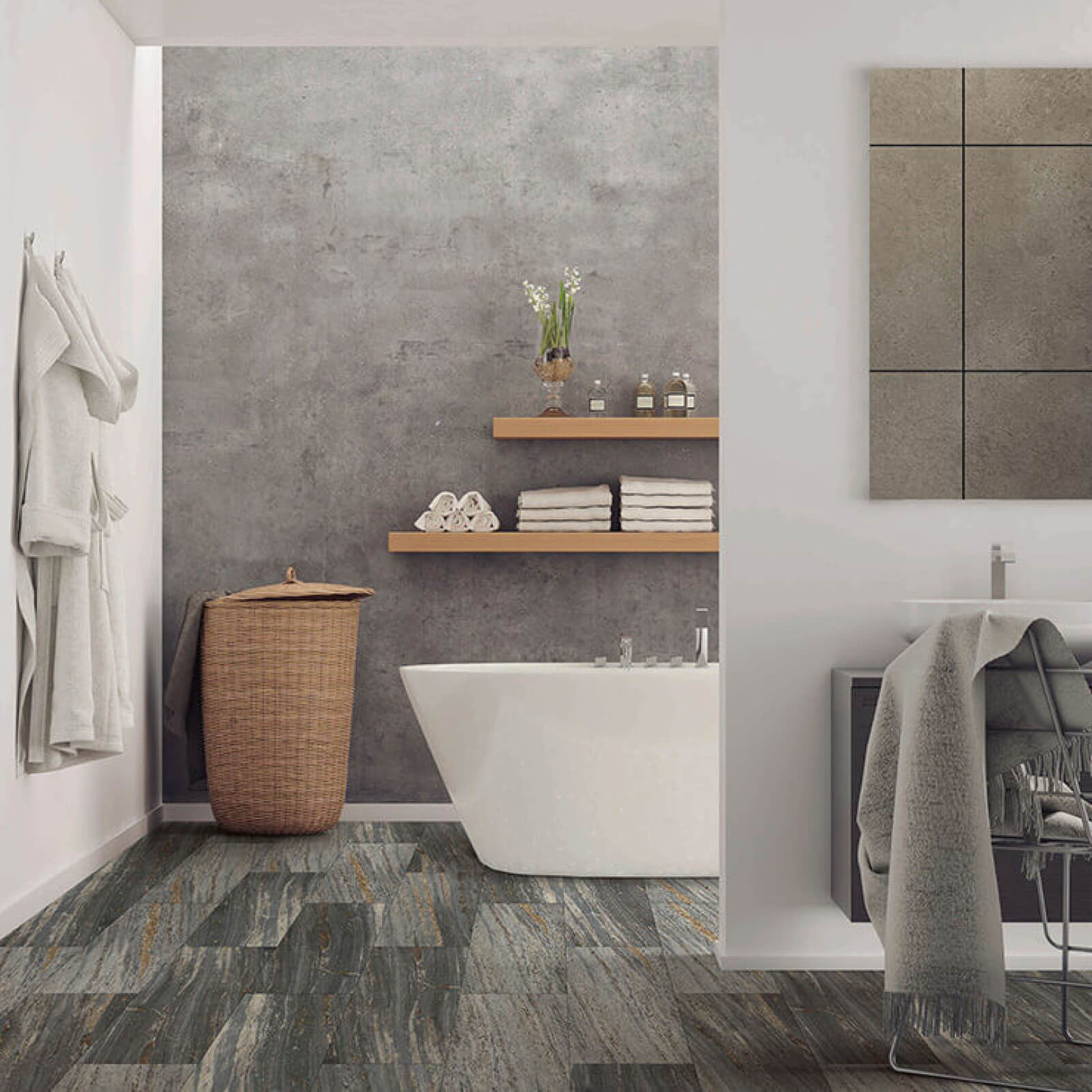 Bathroom flooring | Gilman Floors