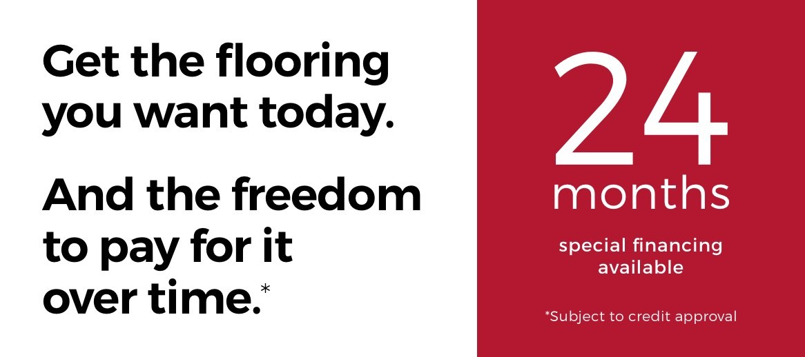24 months 0% financing | Gilman Floors