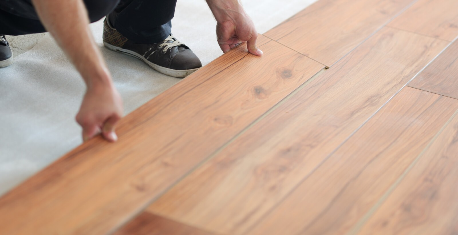 Laminate installation | Gilman Floors