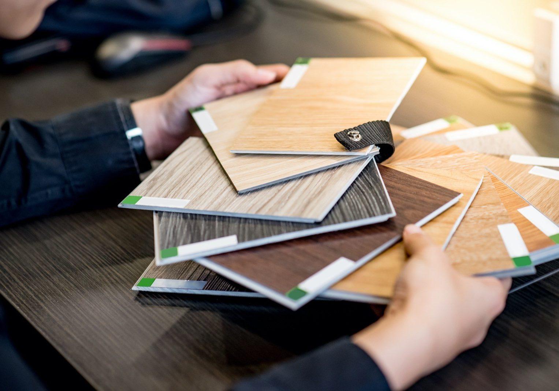 Flooring samples | Gilman Floors