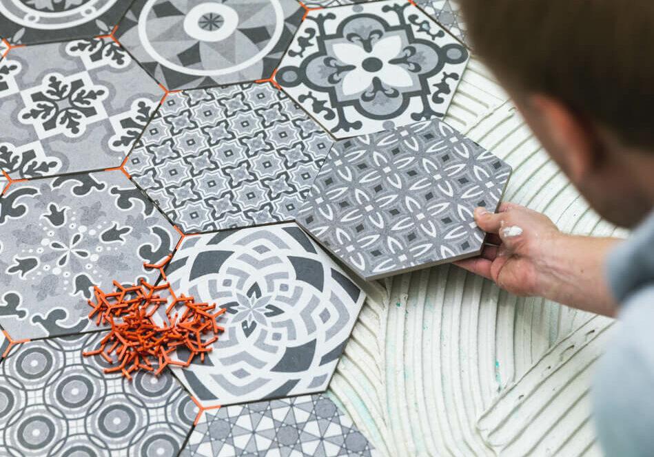 Ceramic tile installation | Gilman Floors