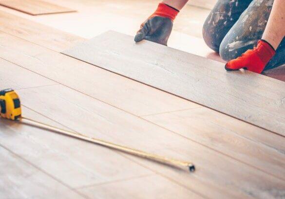 Hardwood installation | Gilman Floors